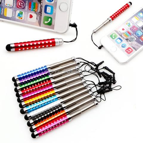Stylus Touch Screen for Tablet and iPhone with retractable feature