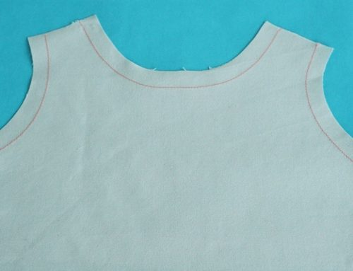 4 tips for staystitching to prevent stretched out necklines